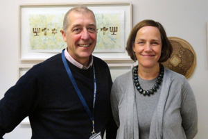 Assoc Prof Sophia Oldfield and Prof Michael Meadows