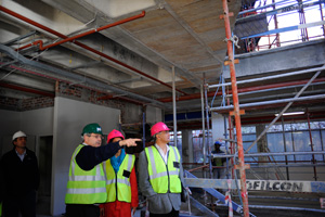 Under construction: New Engineering Building will comprise six storeys