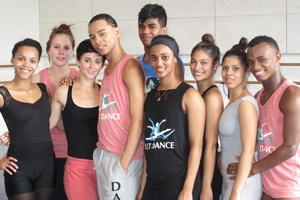 UCT dance students