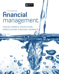 Book by Prof Carlos Correia, David Flynn, Enrico Uliana and Michael Wormald