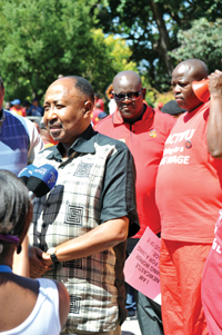 SACTWU marched