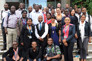 Thirty young researchers from 16 African countries