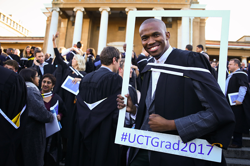 4 500 graduands from all six faculties were capped at 14 graduation ceremonies in May this year.