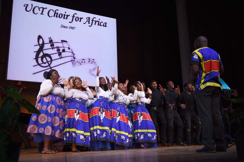 The UCT Choir for Africa