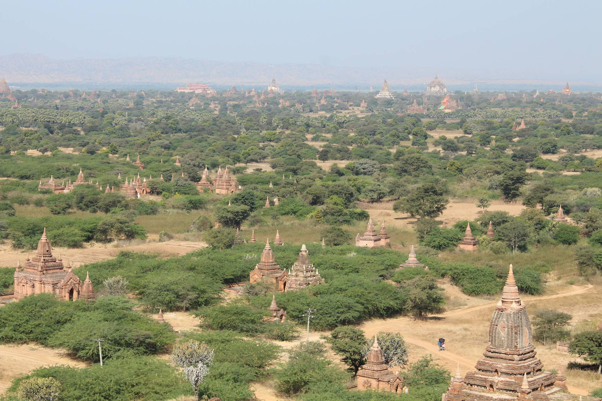 Once there were 10 000 temples and pagodas across the Bagan plain, which were built between the ninth and 13th centuries to honour the deities. Now there are only 2 800, but it's still ranked as one of the world's most remarkable archaeological sites.