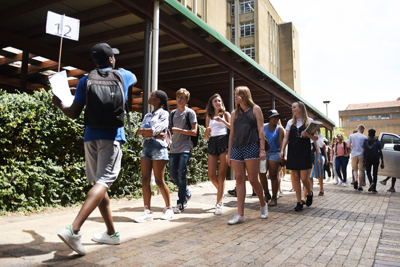 Student tours of the campus, led by second- and third-year students.