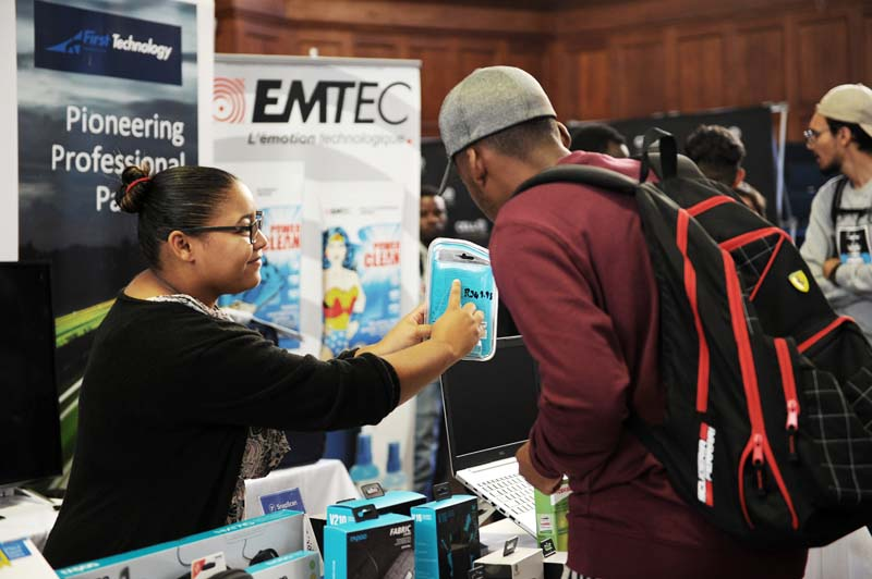 UCT vendors display the new products they have on offer for UCT students and staff.