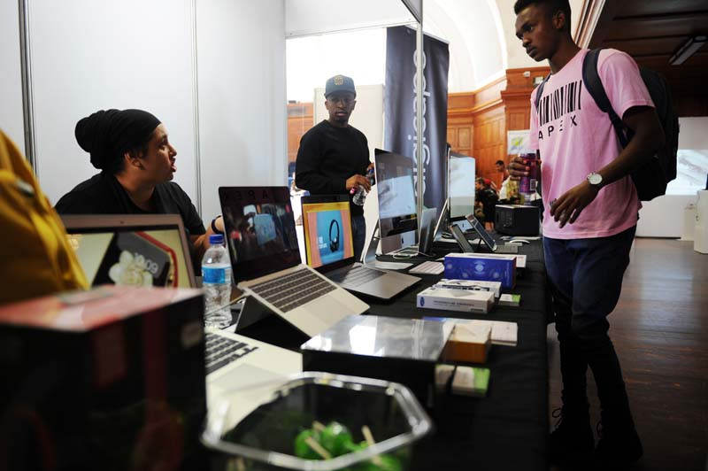 For the first time at TechFest exhibitors were able to sell to festival attendees