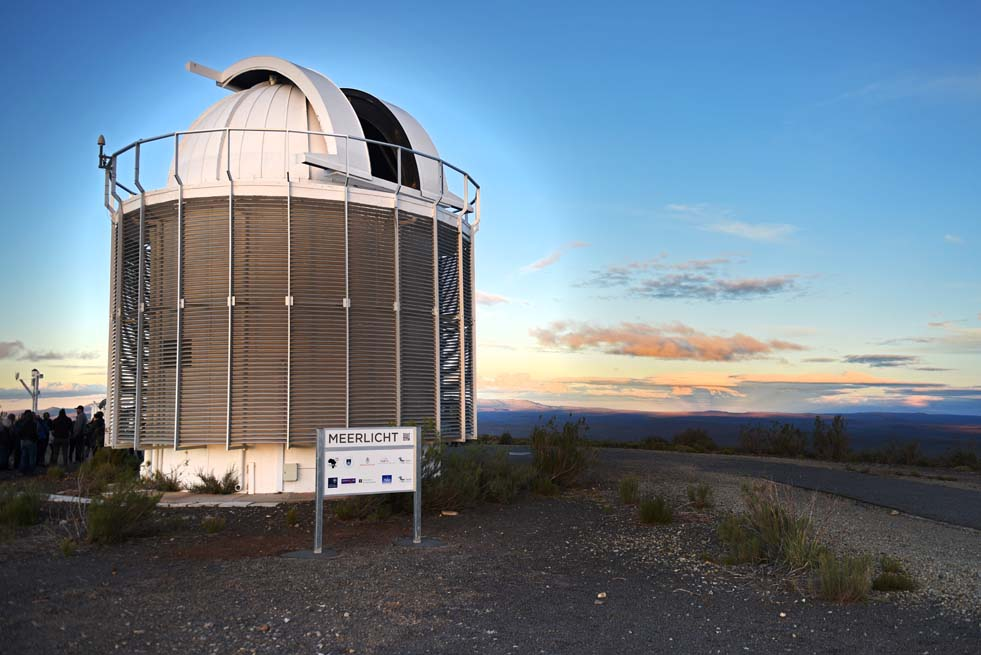 MeerLICHT will provide an optical view of the southern skies from its position at the SAAO facilities in Sutherland.