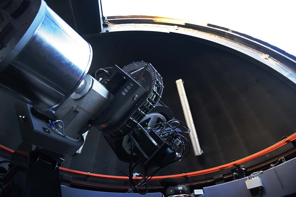 The fully robotic 0.65 m optical telescope has a field of view to match that of the MeerKAT radio telescope.