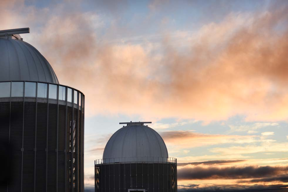 Since the early 1970s the major telescopes of the SAAO have operated on a hilltop 1 800 metres above sea level, near the Karoo village of Sutherland.
