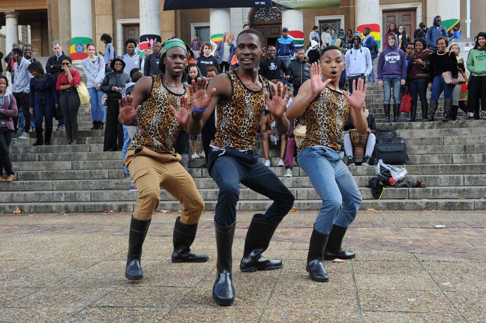 Dancing for Africa Month on 15 May 2014.