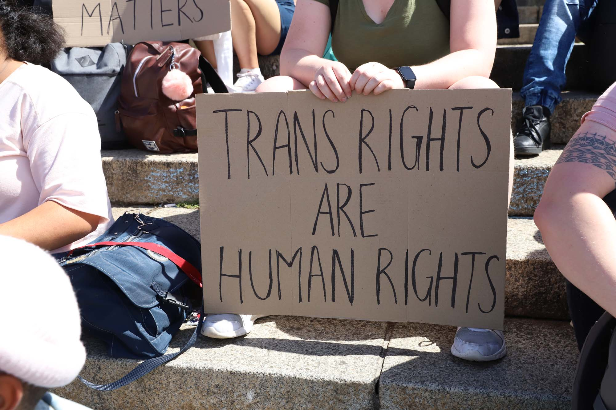 The Rainbow UCT march in solidarity with the trans community highlighted issues surrounding stock shortages of Depo-Testosterone, a hormone replacement therapy used by transgender people transitioning from female to male.