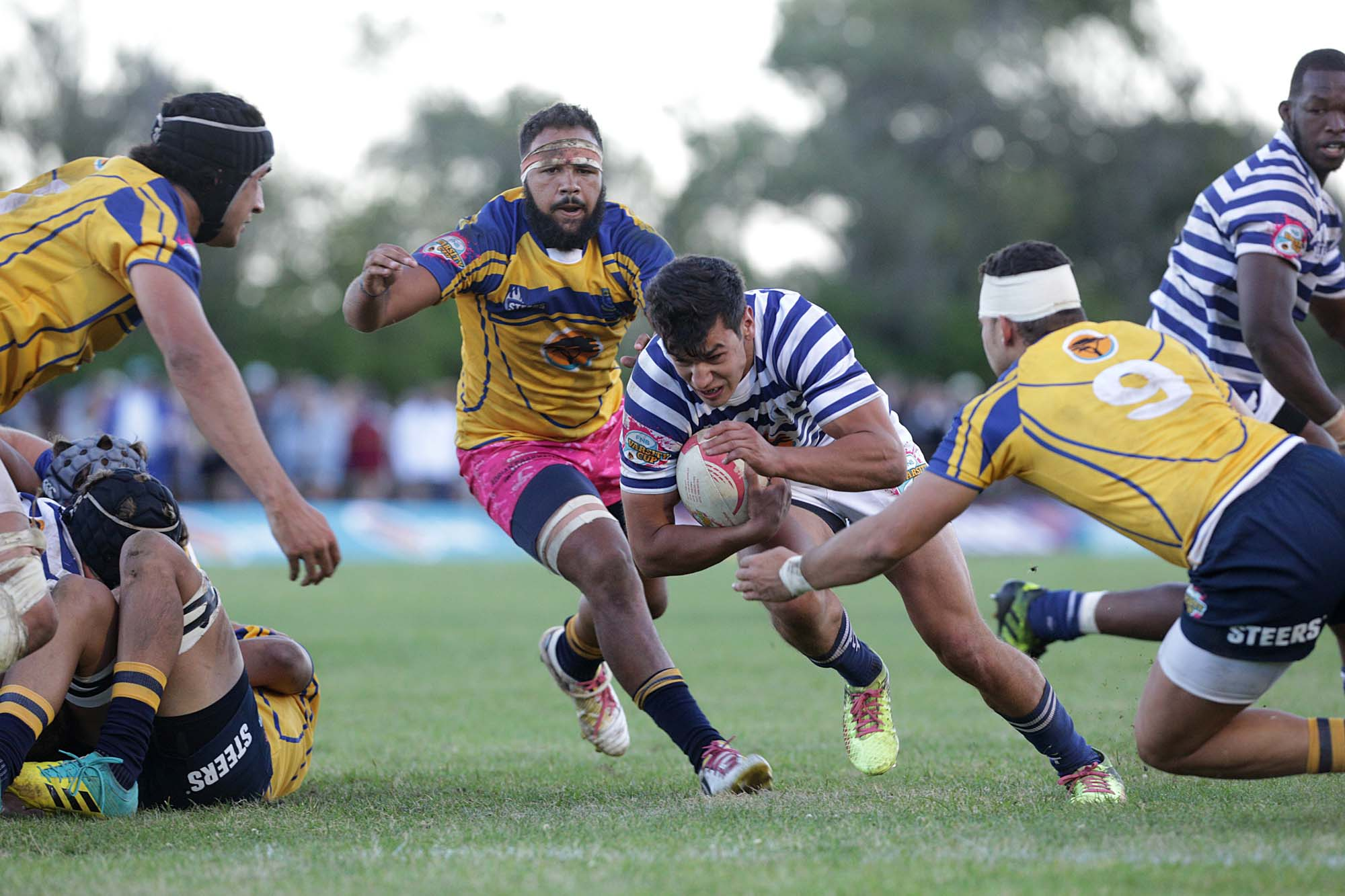 The Ikey Tigers kicked off the 2019 Varsity Cup season with a nail-biting 32–24 victory over Cape rivals University of the Western Cape on 4 February.