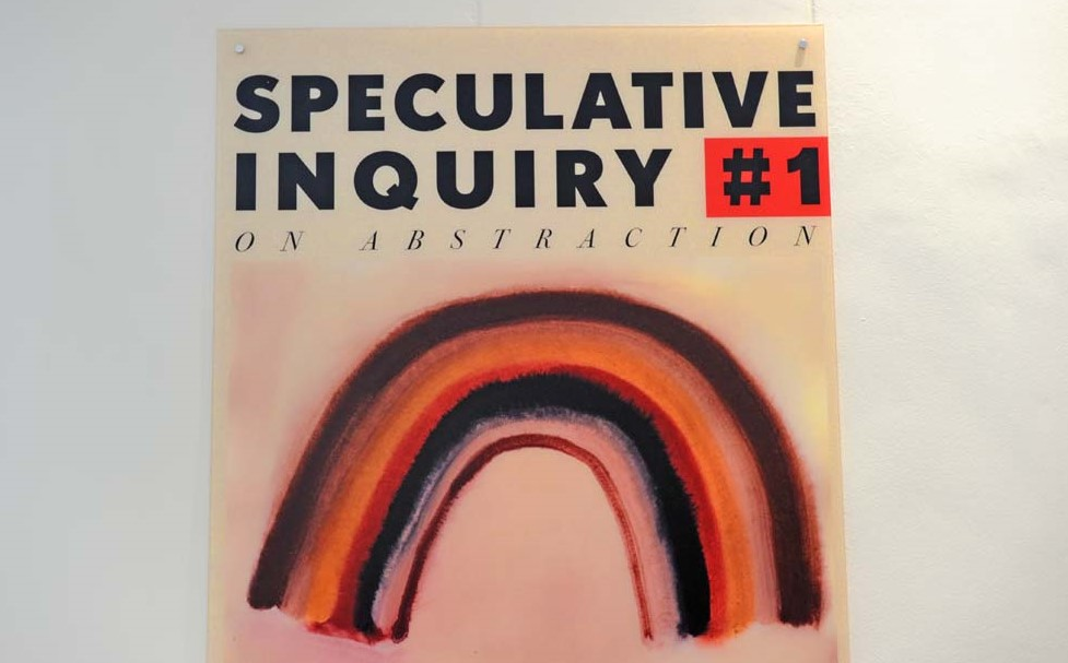 "A poster of ""Speculative Inquiry #1"""