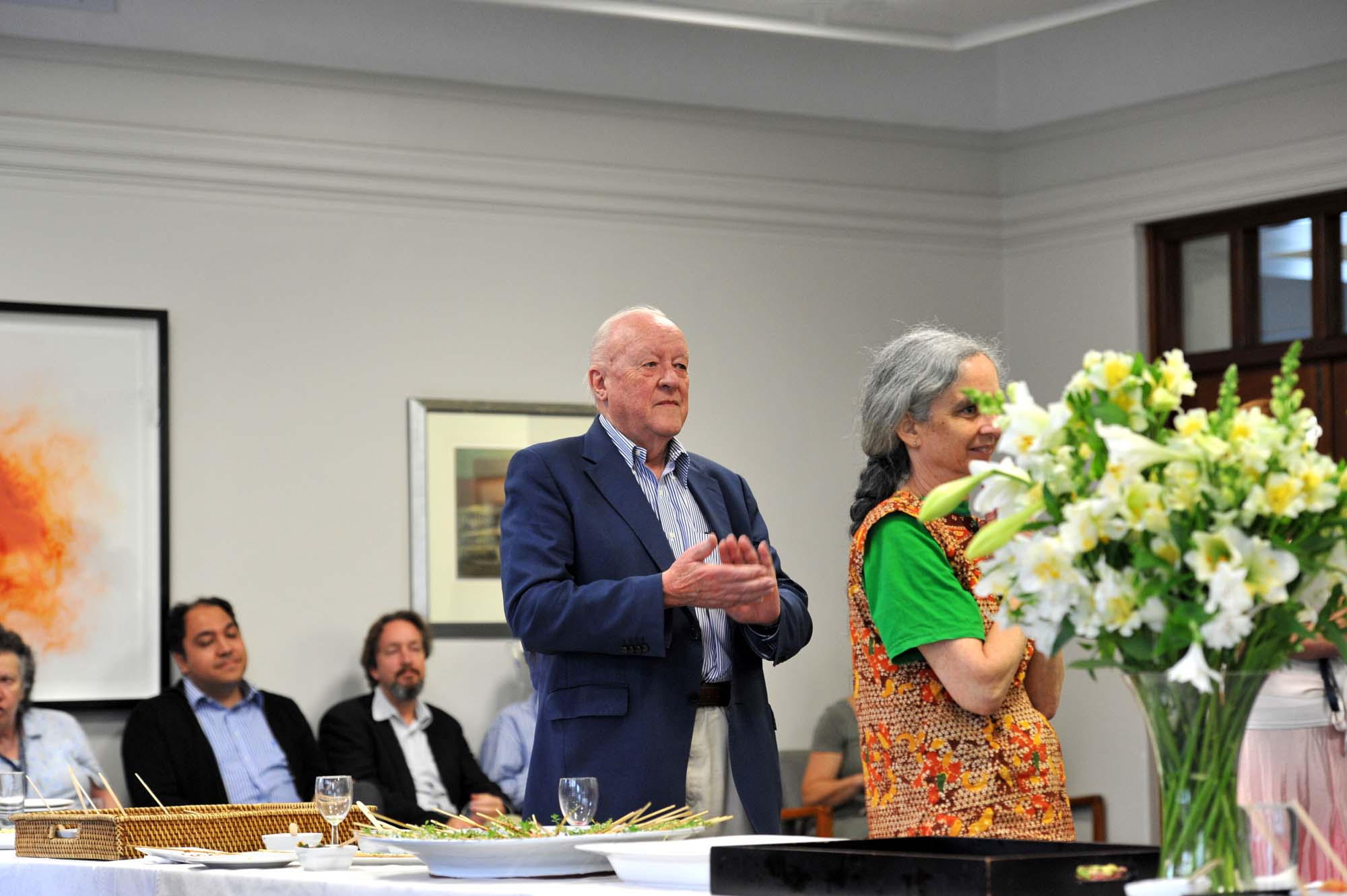 At a Senior Leadership Group farewell function for Prof Paula Ensor in the Mafeje Room on 19 November 2013.