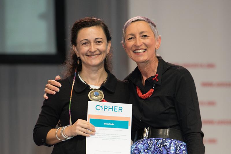 Dr Elona Toska and Prof Linda-Gail Bekker