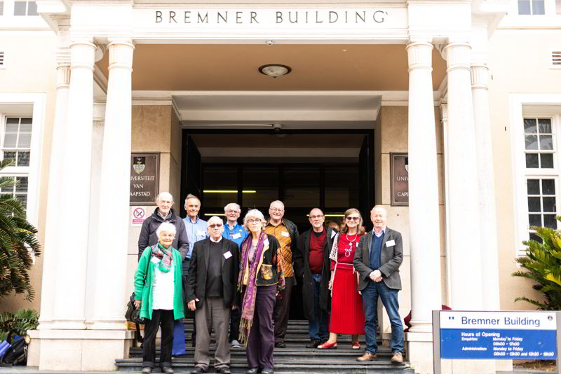 Veterans of the 1968 occupation visited Bremner building during their week-long Golden Jubilee reunion.