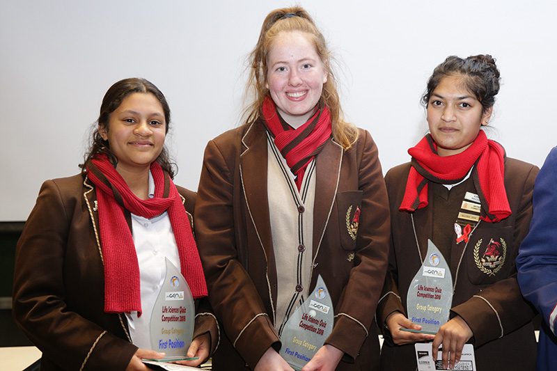 UCT Genomics Quiz winners - Wynberg Girls' High School