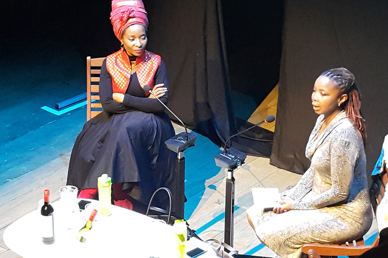 Prof Mamokgethi Phakeng in conversation with feminist author Prof Pumla Gqola