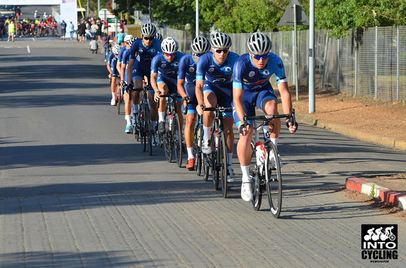 Coveted podium spot for UCT cyclists