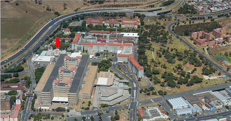 Changing face of UCT infrastructure