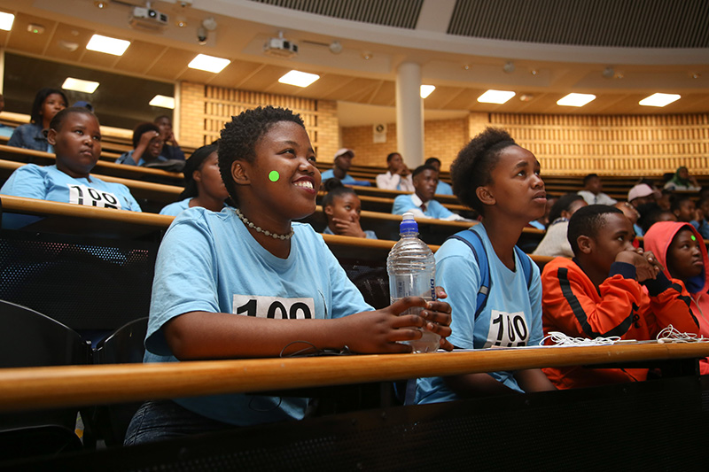 100UP learners get a taste of university life