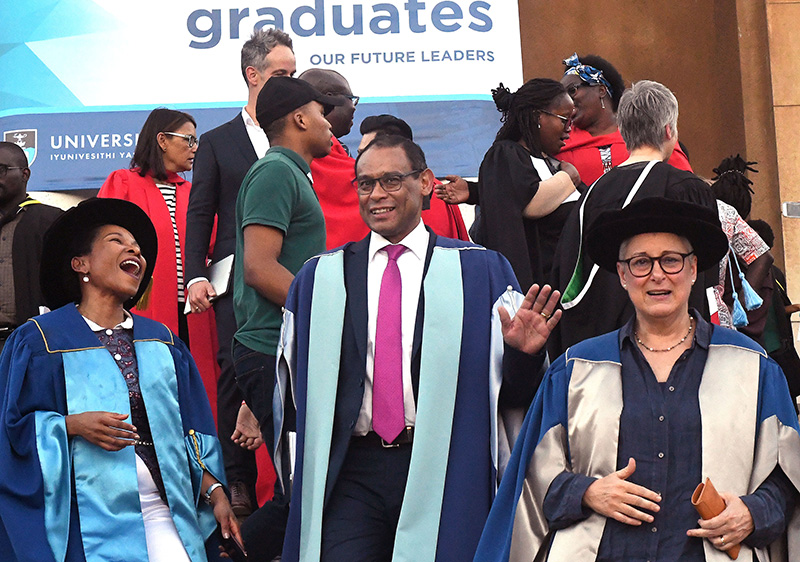 Life lessons for Commerce graduands