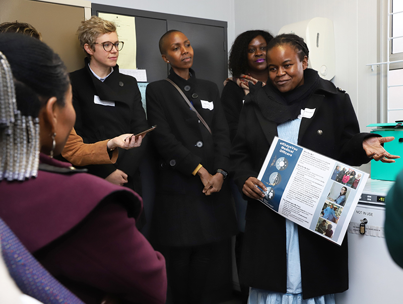Clinical research site shines in Khayelitsha