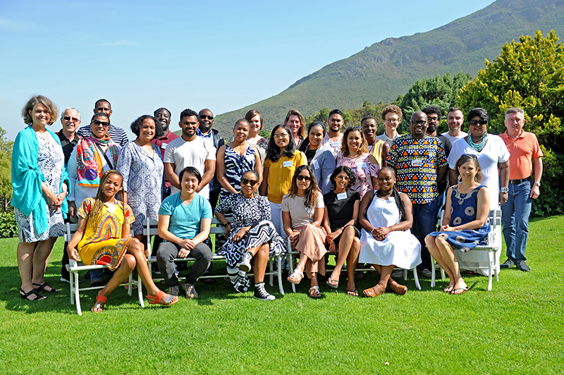 VC Prof Mamokgethi Phakeng joined the first NAPP cohort of 2020 at their residential workshop