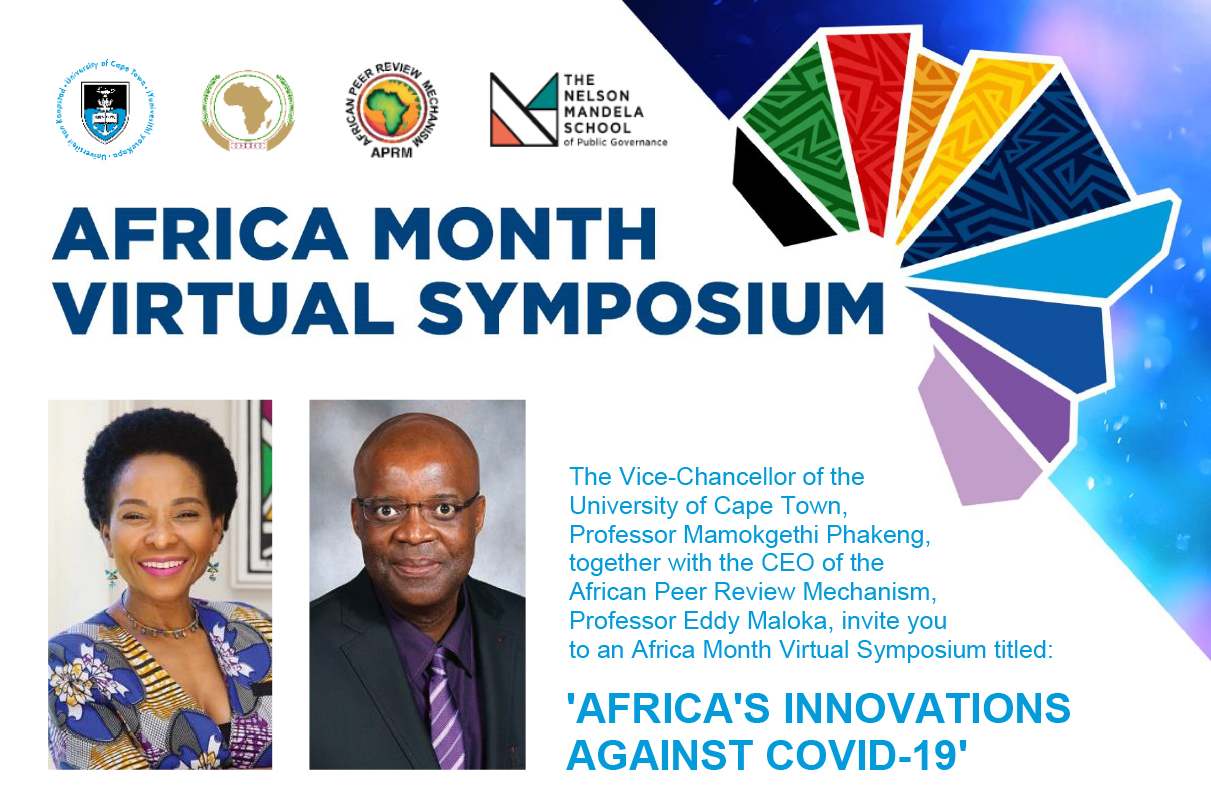 UCT Africa Month Virtual Symposium Series