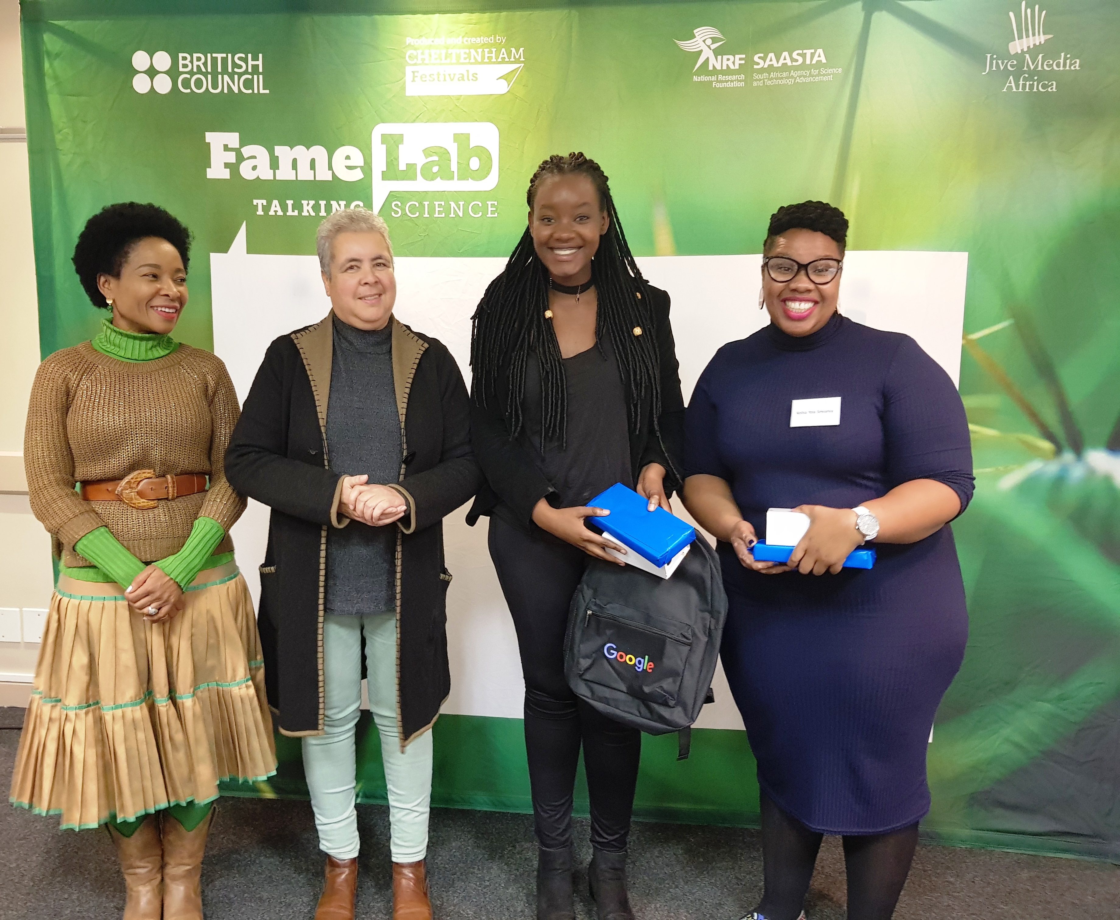 Winners of UCT Famelab Finals
