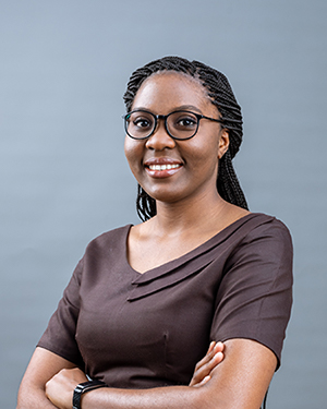 Regina Esinam Abotsi is a PhD candidate in the UCT Department of Molecular and Cell Biology