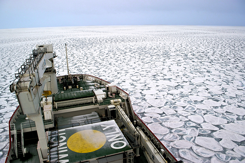 Winter in the Atlantic Southern Ocean aboard the SA Agulhas II